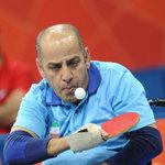 از حسن جانفشان قهرمان تنیس روی میز آسیا در اشنویه تجلیل شد